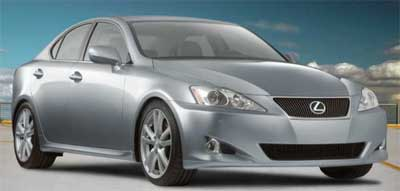 2006 Lexus IS350 in Breakwater Blue Metallic