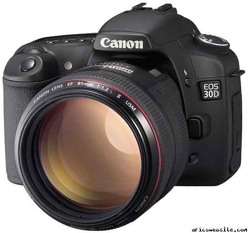Canon's official picture of the Canon 30D