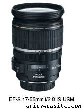 Canon's new EF-S 17-55mm f/2.8 IS