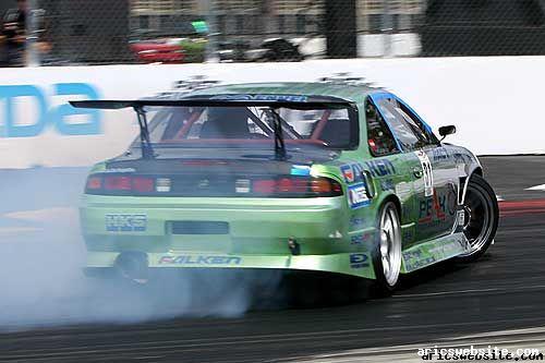 Peak Performance 240SX S14 drift car